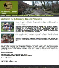 Bulbarrow Timber's Website