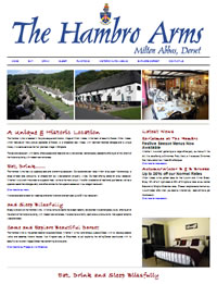 The Hambro Arms Website